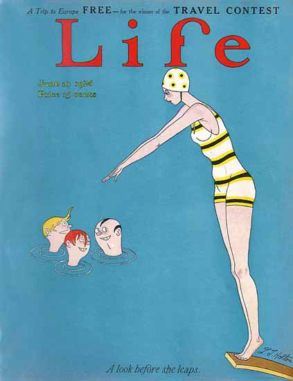 LT Holton Life Humor Magazine 1926-06-10 Copyright | Life Magazine Graphic Art Covers 1891-1936