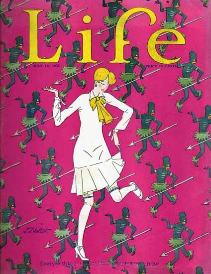 LT Holton Life Humor Magazine 1926-07-15 Copyright   Life Magazine Graphic Art Covers 1891-1936