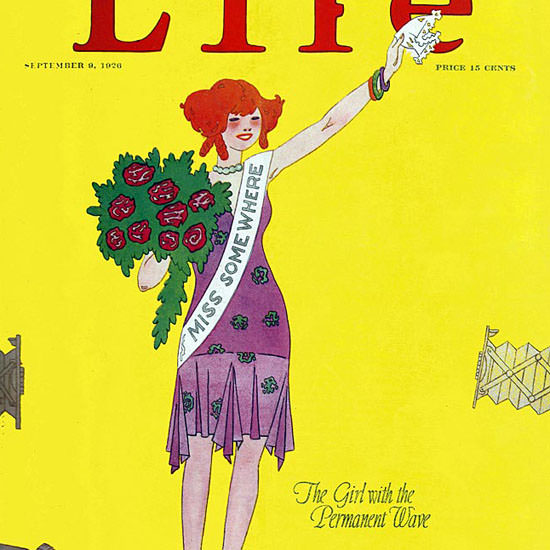 LT Holton Life Humor Magazine 1926-09-09 Copyright crop | Best of 1920s Ad and Cover Art