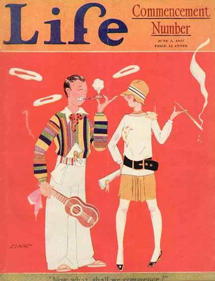 LT Holton Life Humor Magazine 1927-06-02 Copyright | Life Magazine Graphic Art Covers 1891-1936