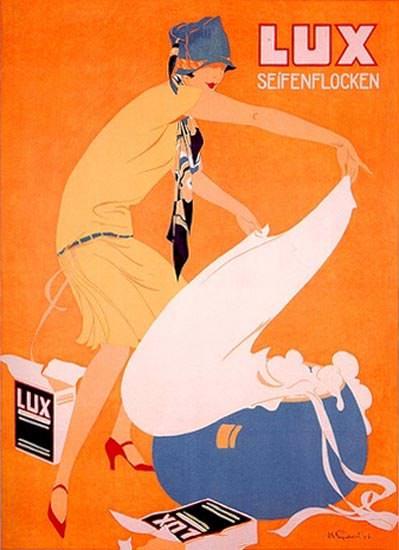 LUX Seifenflocken Waescherin 1926 Engelhard | Sex Appeal Vintage Ads and Covers 1891-1970
