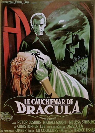 La Cauchemare De Dracula Christopher Lee | Sex Appeal Vintage Ads and Covers 1891-1970
