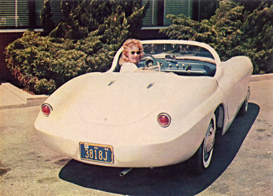 La Dawri Quest Q T 1961 Girl With Sunglasses | Vintage Cars 1891-1970