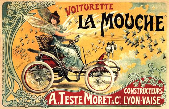 La Mouche Voiturette Constructeurs Teste Moret | Vintage Cars 1891-1970