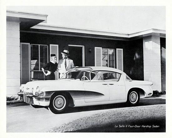 La Salle II Hardtop Sedan 1955 | Vintage Cars 1891-1970