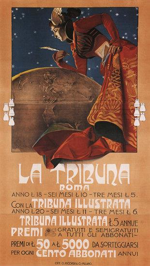 La Tribuna Roma Newspaper Italy Italia | Sex Appeal Vintage Ads and Covers 1891-1970