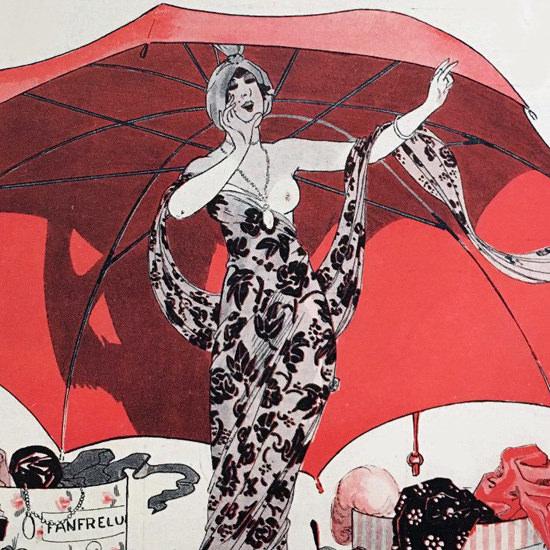 La Vie Parisienne 1912 La Actualites Georges Leonnec crop B | Best of Vintage Cover Art 1900-1970
