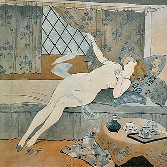 La Vie Parisienne 1912 Nivose Rene Prejelan crop   Best of Vintage Cover Art 1900-1970