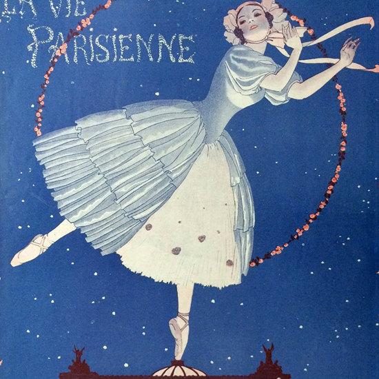 La Vie Parisienne 1914 Mai 30 Georges Leonnec crop | Best of Vintage Cover Art 1900-1970