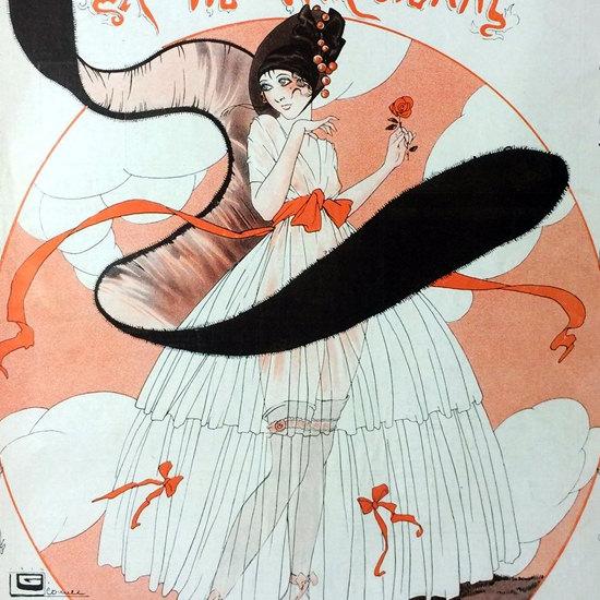 La Vie Parisienne 1914 Premier Rayon Georges Leonnec crop   Best of Vintage Cover Art 1900-1970