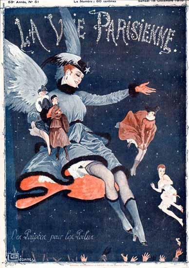 La Vie Parisienne 1915 Les Poupees Georges Leonnec | La Vie Parisienne Erotic Magazine Covers 1910-1939