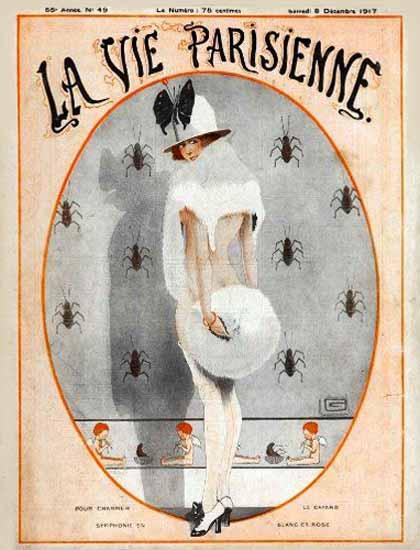 La Vie Parisienne 1917 Decembre Georges Leonnec Sex Appeal | Sex Appeal Vintage Ads and Covers 1891-1970