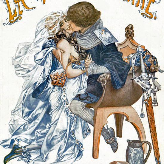 La Vie Parisienne 1917 La Classe 1417 Cheri Herouard crop   Best of Vintage Cover Art 1900-1970