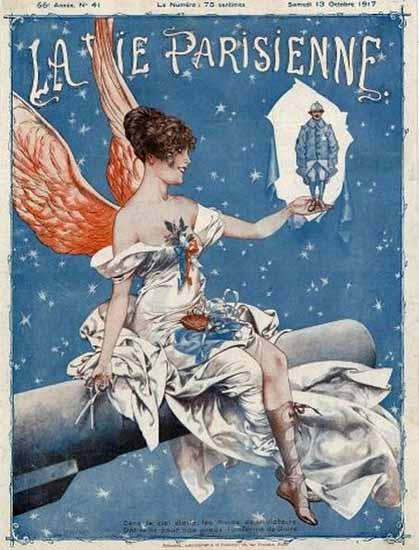 La Vie Parisienne 1917 Victoire Cheri Herouard | La Vie Parisienne Erotic Magazine Covers 1910-1939