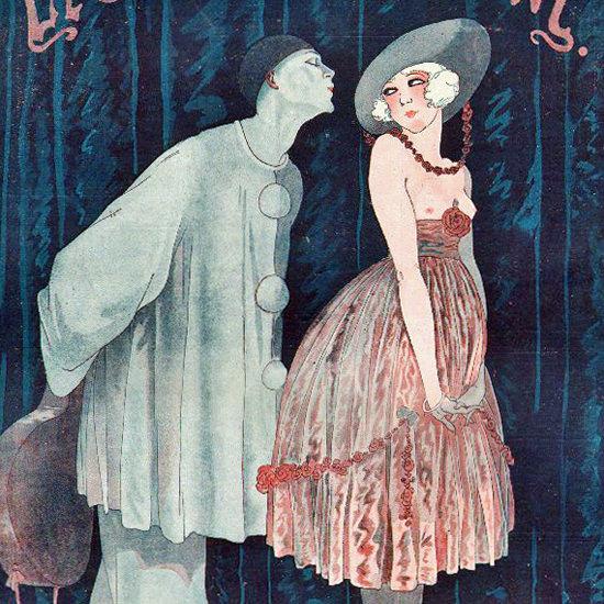 La Vie Parisienne 1917 Vision Georges Leonnec crop | Best of Vintage Cover Art 1900-1970