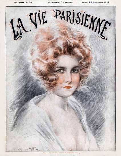 La Vie Parisienne 1918 La Beaute Sex Appeal | Sex Appeal Vintage Ads and Covers 1891-1970
