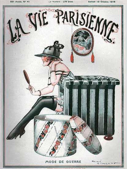 La Vie Parisienne 1918 Mode De Guerre Sex Appeal | Sex Appeal Vintage Ads and Covers 1891-1970