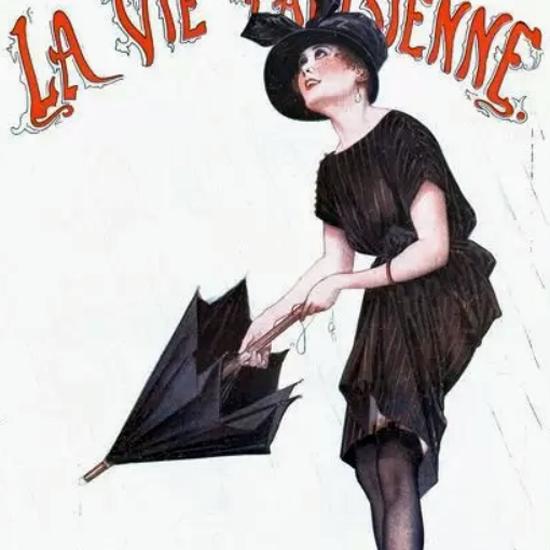 La Vie Parisienne 1919 Eh La-Haut Vous Oubliez Georges Leonnec crop | Best of Vintage Cover Art 1900-1970