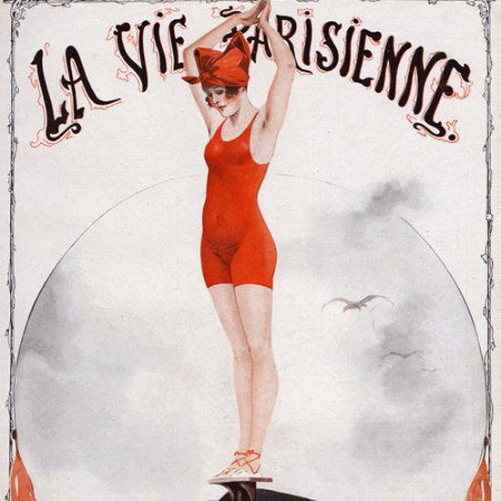 La Vie Parisienne 1919 Etoile De Mer Georges Leonnec crop | Best of Vintage Cover Art 1900-1970