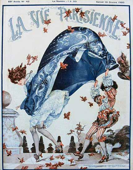 La Vie Parisienne 1920 Automne Cheri Herouard | La Vie Parisienne Erotic Magazine Covers 1910-1939