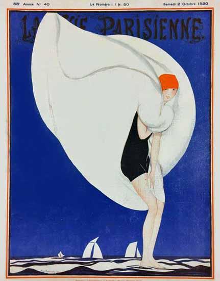 La Vie Parisienne 1920 Octobre 2 Zyg Brunner   La Vie Parisienne Erotic Magazine Covers 1910-1939