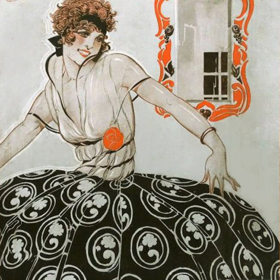 La Vie Parisienne 1920 Septembre 11 Rene Vincent crop | Best of 1920s Ad and Cover Art