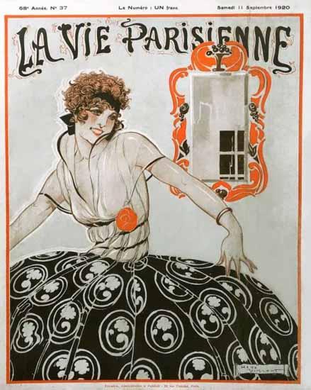 La Vie Parisienne 1920 Septembre 11 Sex Appeal | Sex Appeal Vintage Ads and Covers 1891-1970