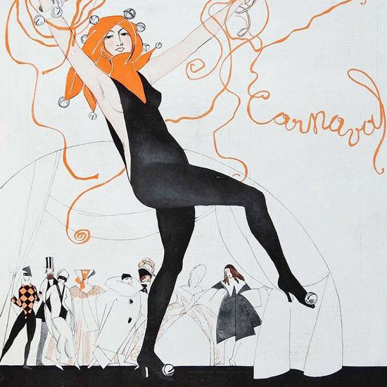 La Vie Parisienne 1921 Carnaval crop | Best of Vintage Cover Art 1900-1970