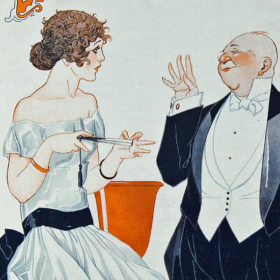 La Vie Parisienne 1921 Cela Vous Etonnera Rene Vincent crop | Best of 1920s Ad and Cover Art