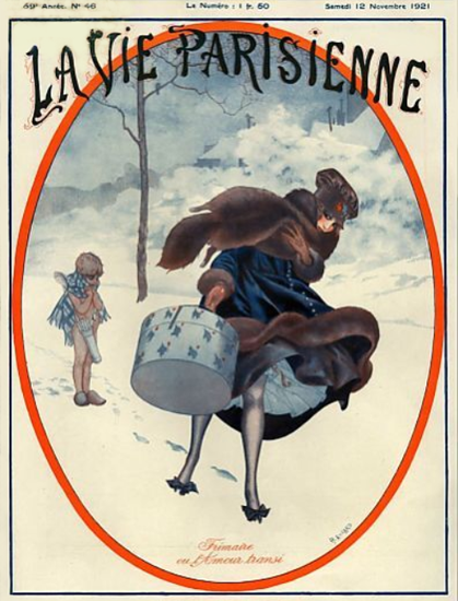 La Vie Parisienne 1921 L Amour Sex Appeal | Sex Appeal Vintage Ads and Covers 1891-1970