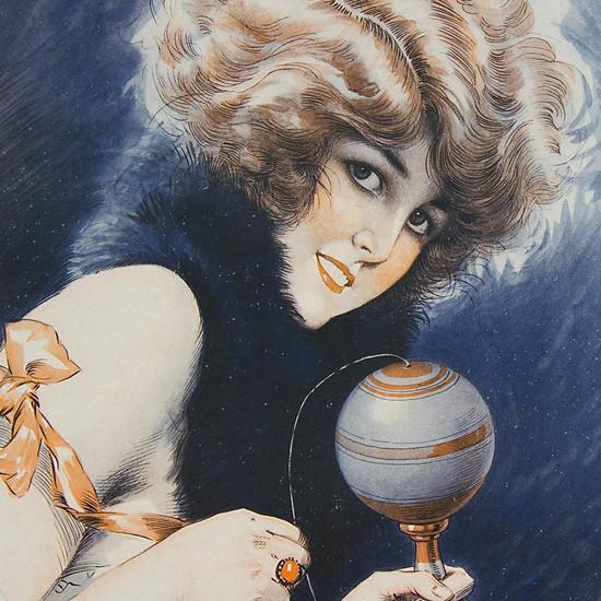 La Vie Parisienne 1921 Voulez-Vous Jouer Avec Moi Maurice Milliere crop | Best of 1920s Ad and Cover Art