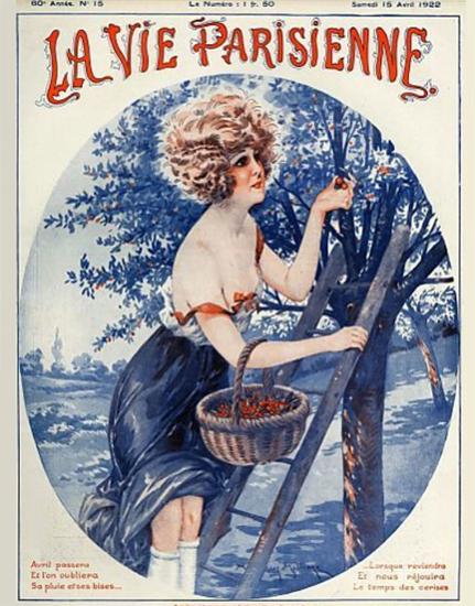 La Vie Parisienne 1922 Avril 15 Sex Appeal   Sex Appeal Vintage Ads and Covers 1891-1970