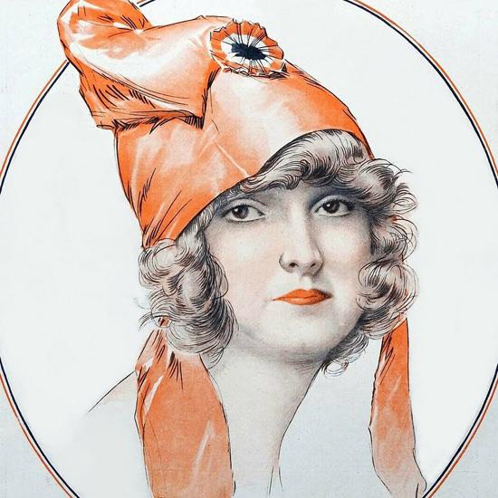 La Vie Parisienne 1922 Juin 10 Maurice Milliere crop | Best of Vintage Cover Art 1900-1970