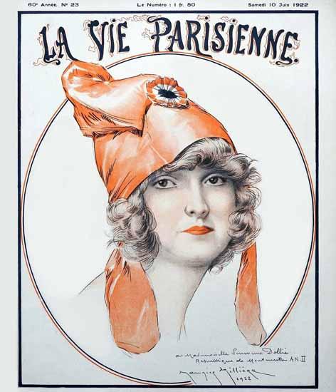 La Vie Parisienne 1922 Juin 10 Maurice Milliere | La Vie Parisienne Erotic Magazine Covers 1910-1939
