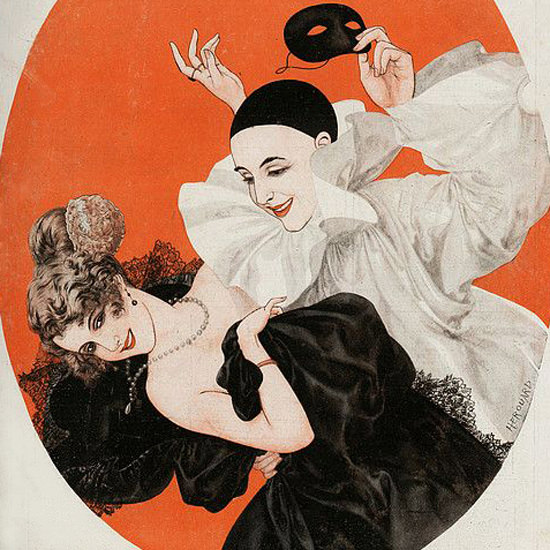La Vie Parisienne 1922 L Heur Du Berger Cheri Herouard crop | Best of Vintage Cover Art 1900-1970