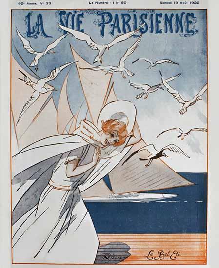 La Vie Parisienne 1922 Le Bel Ete Sex Appeal   Sex Appeal Vintage Ads and Covers 1891-1970