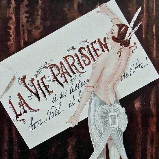 La Vie Parisienne 1922 Noel Georges Leonnec crop   Best of 1920s Ad and Cover Art