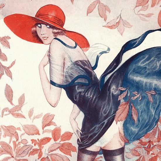 La Vie Parisienne 1922 Octobre 7 ValdEs crop B | Best of Vintage Cover Art 1900-1970