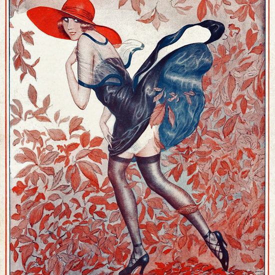 La Vie Parisienne 1922 Octobre 7 ValdEs crop | Best of Vintage Cover Art 1900-1970