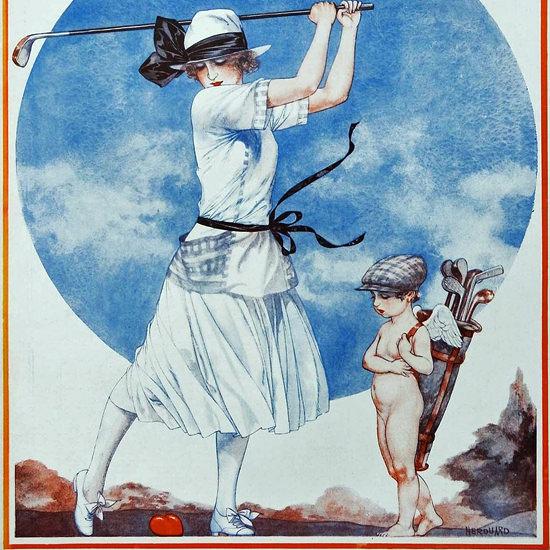 La Vie Parisienne 1922 Septembre 23 Cheri Herouard crop | Best of Vintage Cover Art 1900-1970