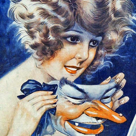 La Vie Parisienne 1922 Un Pied De Nez Maurice Milliere crop B   Best of 1920s Ad and Cover Art