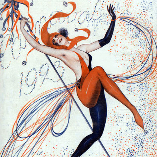 La Vie Parisienne 1923 Carnaval crop | Best of 1920s Ad and Cover Art