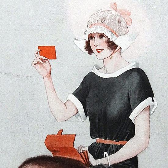 La Vie Parisienne 1923 Coquetterie Georges Leonnec crop B | Best of 1920s Ad and Cover Art