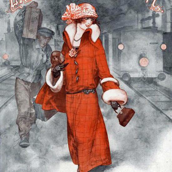 La Vie Parisienne 1923 Hors De La Fournaise Cheri Herouard crop | Best of 1920s Ad and Cover Art