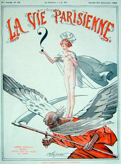 La Vie Parisienne 1923 L anne Nouvelle Paris | Sex Appeal Vintage Ads and Covers 1891-1970