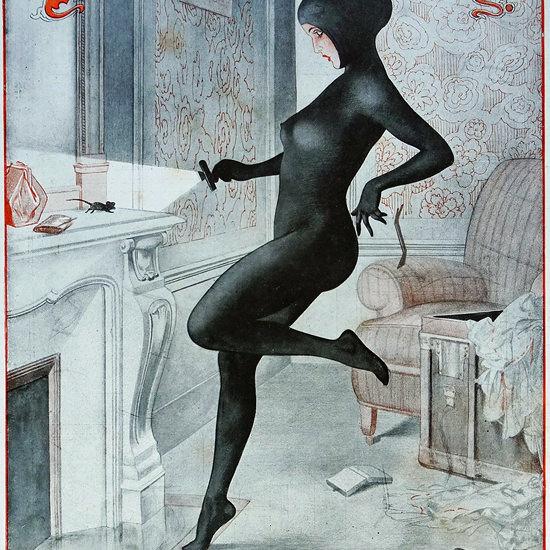 La Vie Parisienne 1923 Les Soeurs Ennemies Cheri Herouard crop | Best of Vintage Cover Art 1900-1970
