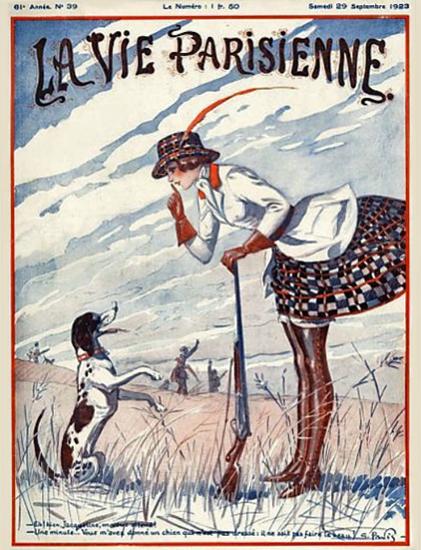 La Vie Parisienne 1923 Septembre 29 Sex Appeal   Sex Appeal Vintage Ads and Covers 1891-1970