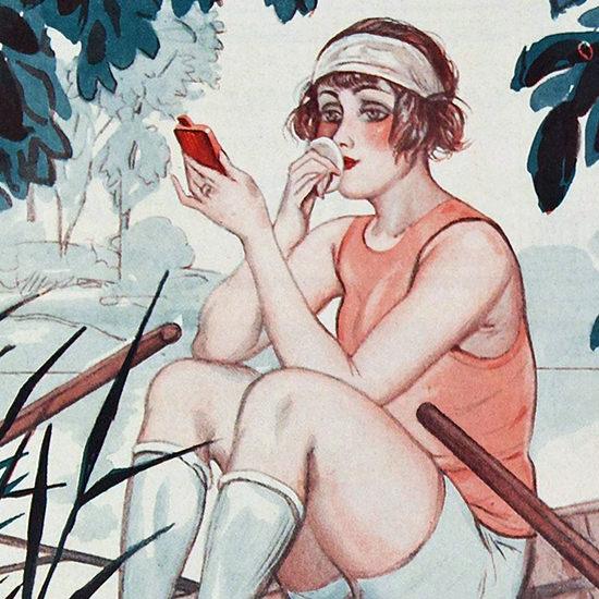 La Vie Parisienne 1924 Avant L Abordage Georges Pavis crop B | Best of Vintage Cover Art 1900-1970
