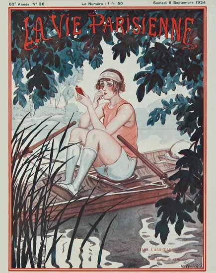 La Vie Parisienne 1924 Avant L Abordage Sex Appeal | Sex Appeal Vintage Ads and Covers 1891-1970