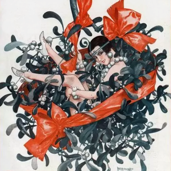 La Vie Parisienne 1924 Gai Noel Cheri Herouard crop | Best of 1920s Ad and Cover Art